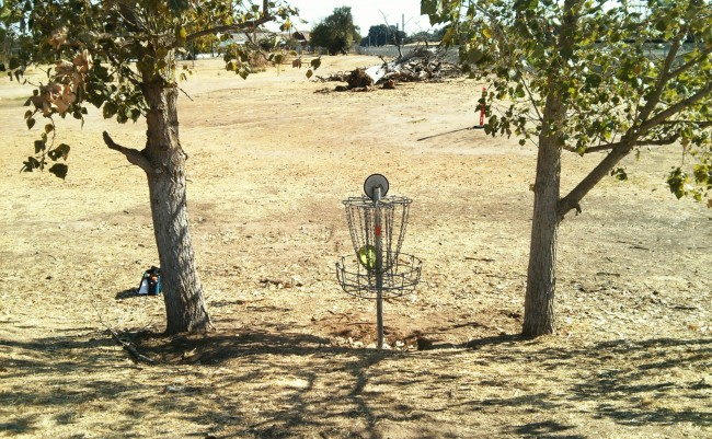 More new hole positions at John Mackey Park 1