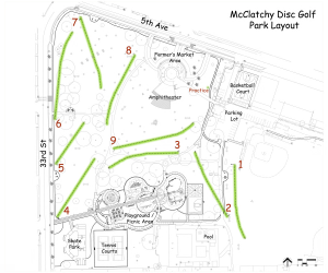 McClatchy Park DGC Course Plan