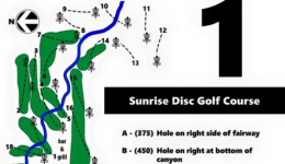 Sunrise Disc Golf Course grand opening Friday, 2/13/15 2