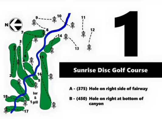 Sunrise Disc Golf Course grand opening Friday, 2/13/15 1