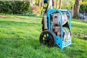 Zuca backpack disc golf cart