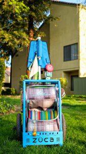 Zuca backpack cart