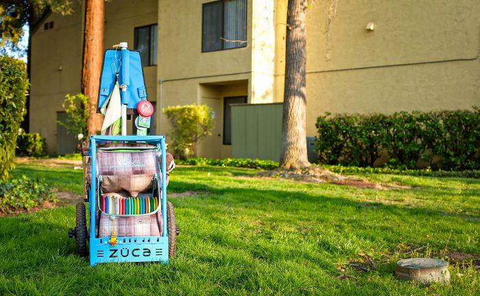 Zuca backpack cart header